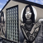 Fin DAC x Angelina Christina New Mural In Costa Mesa, USA