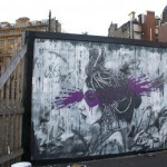 Fin DAC New Mural In Bradford, UK