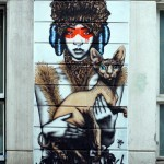 Fin DAC New Mural In London, UK