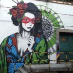 Fin DAC New Mural In Madrid, Spain