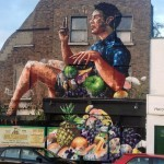Fintan Magee New Mural In Dublin, Ireland