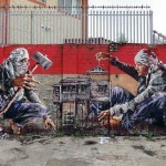 Fintan Magee New Mural In London, UK