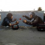 Fintan Magee New Mural In Los Angeles, California