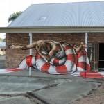 Fintan Magee New Mural In Brisbane, Australia