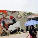 Fintan Magee New Murals In Indonesia