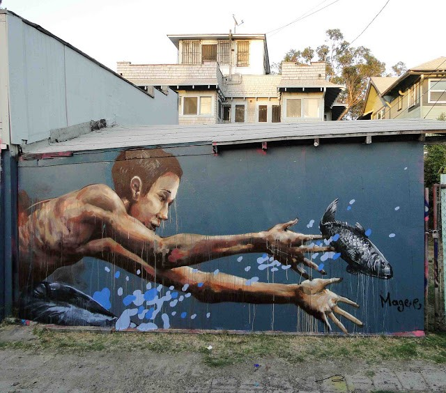 Fintan Magee New Mural In Los Angeles, USA (Part III)