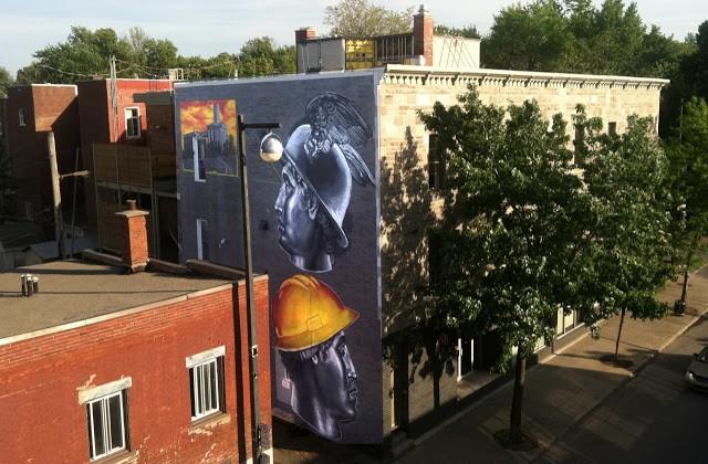 Gaia New Murals In Montreal, Canada