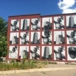 Gaia New Mural In Rochester, USA
