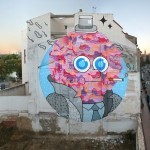 GR170 New Mural For Asalto Festival '13 In Zaragoza, Spain