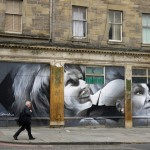 Guido Van Helten New Mural In Edinburgh, Scotland