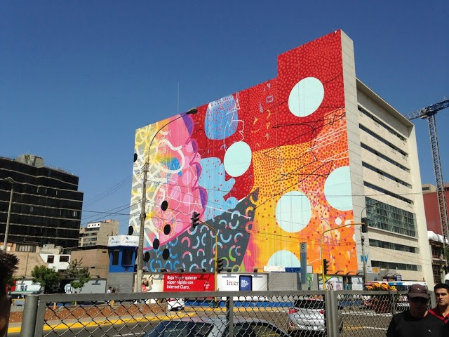 Hense New Mural In Lima, Peru