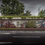 Herakut New Mural In Bad Vilbel, Germany