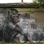 "Herakut ""Monkey See, Monkey Do."" New Street Art – Berlin, Germany"
