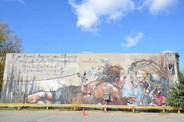Herakut New Mural In Montreal, Canada