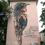 Herakut New Mural In Mannheim, Germany