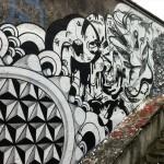 Highraff x Ninguem x Boleta x Prozak New Mural In Sao Paulo, Brazil