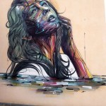 Hopare New Mural In Orsay, France