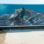 Hopare New Mural In Arromanches, France
