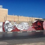 How & Nosm New Street Art Pieces – Beit Sahour & Bethlehem, Palestine