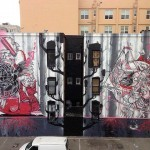 How & Nosm New Mural In San Francisco, USA