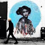 Hush New Mural In Newcastle, UK