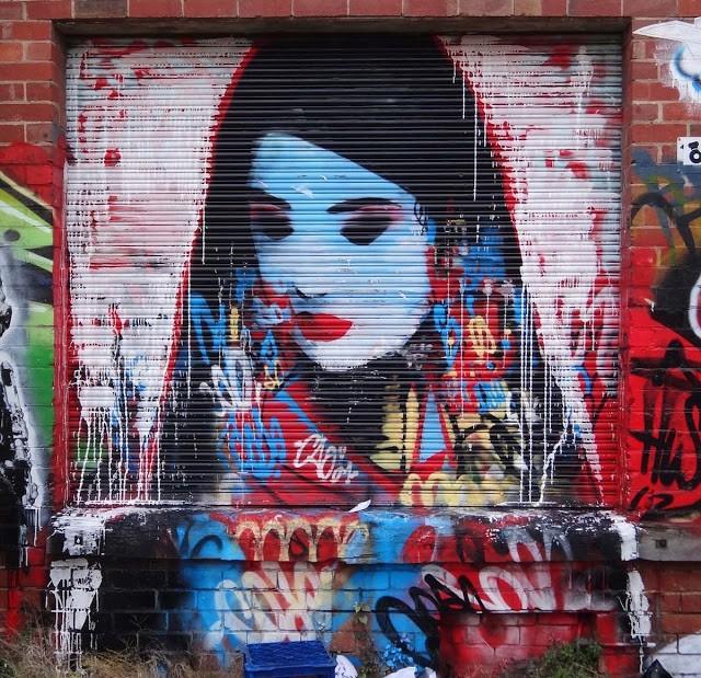 Hush New Mural In Melbourne, Australia