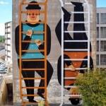 "Agostino Iacurci ""Zero Infinito"" New Street Art – Rome, Italy"