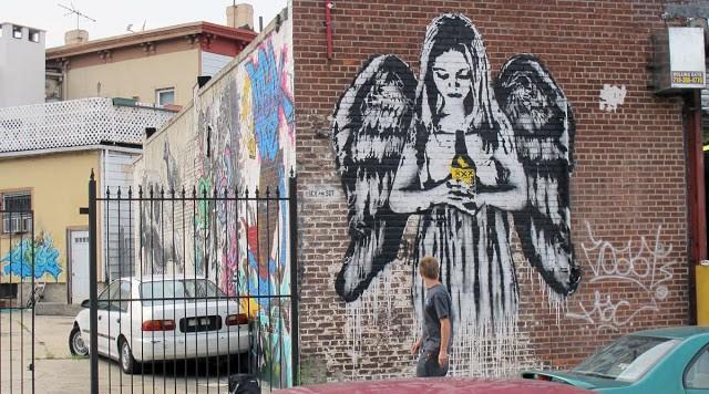 Icy and sot new mural in nyc streetartnews streetartnews for Mural on broome street