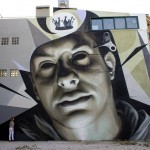 iNO New Mural In Athens, Greece