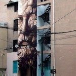 "iNO ""System of a Fraud"" New Mural – Athens, Greece"