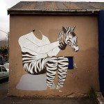 Interesni Kazki New Mural In Progress, Cape Town, South Africa