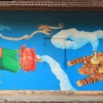 Interesni Kazki New Mural In Varkala, India