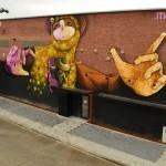 INTI New Mural In Hasselt, Belgium