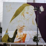 Work In Progress By INTI For Los Muros Hablan '13 – San Juan, Puerto Rico