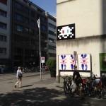 Invader New Invasion In Basel, Switzerland