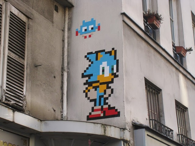 Invader New Invasions In Paris – December '13