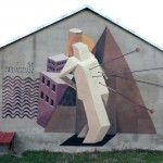 Jacyndol New Mural In Parchowo, Poland