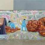 Jade x El Decertor New Mural In Lima, Peru