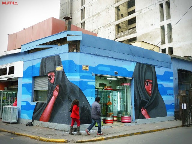 Jade New Mural In Lima, Peru