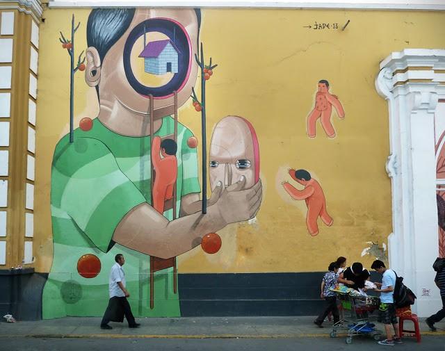 Jade New Mural In Lima, Peru | StreetArtNews | StreetArtNews