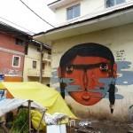 Jade New Murals In Cerro De Pasco, Peru