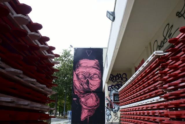 James Kalinda New Murals In Modena, Italy