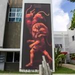 "JAZ ""Multiple Identidad"" New Mural For Los Muros Hablan '13 – San Juan, Puerto Rico"