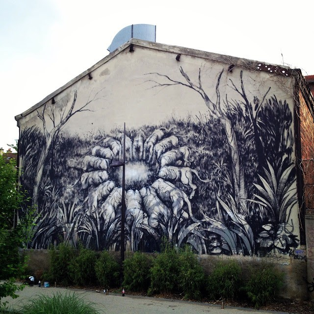 JAZ New Mural In Vitry, France