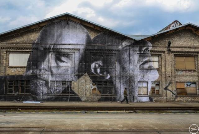 JR New Murals In Berlin, Germany (Part III)