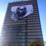 JR New Mural At The National Library of France – Paris