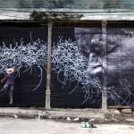 JR x Jose Parla New Murals In Havana, Cuba (Final Part)