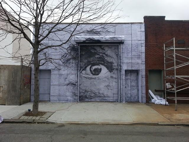 JR x Daniel Arsham New Mural In New York City, USA