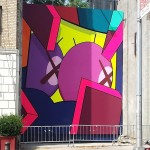 KAWS New Mural In Brooklyn, New York City