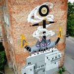 Kislow New Mural In Gdynia, Poland